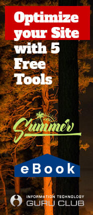 eBook: Optimize your Site with 5 Free Tools by ITGuruClub